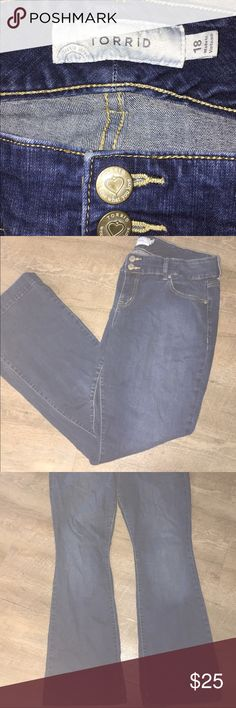💗TORRID JEANS! 👖 SIZE 18! 💗 💗The pictures do not do justice these jeans are nice quality.  💗 torrid Jeans
