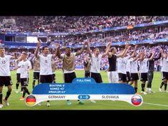 Germany 3:0 Slovakia Match Recap Euro 2016 - YouTube