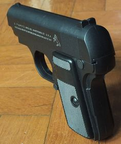 Colt Model 1908 Vest Pistol in .25ACP Find our speedloader now!  http://www.amazon.com/shops/raeind
