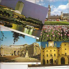 vintage London postcards