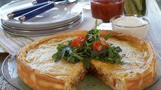 Tacopai med kjøttdeig - Oppskrift fra TINE Kjøkken Camembert Cheese, Tin, Tacos, Dairy, Desserts, Food, Alternative, Tailgate Desserts, Deserts