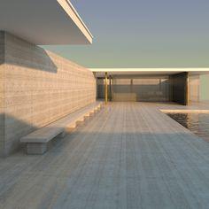 Architecture Résidentielle, Scandinavian Architecture, Beautiful Architecture, Ludwig Mies Van Der Rohe, My Dream Home, Building A House, House Design, Corner, Iphone Backgrounds