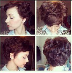 Hast+Du+dunkles+Haar?+Wunderschöne+Kurzhaarfrisuren+für+Frauen+mit+dunklem+Haar!