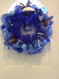 Colts wreath 3