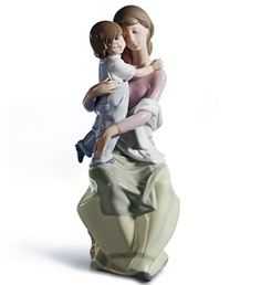 01006634  A MOTHER'S LOVE   Issue Year: 1999  Sculptor: Marco Antonio Noguerón  Size: 29x14 cm