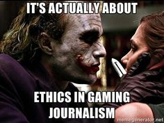 As it turns out, Gamergate is only about ethics in gaming journalism about a twelfth as much as it is about harassing female game developers and critics.
