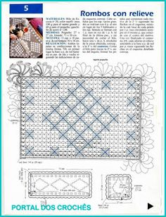 ПОРТАЛ КРОШЕТА: ДЕЛИКАТНЫЕ ЦЕНТРЫ КРОШЕТА FILRO Crochet Art, Crochet Doilies, Knitting Patterns, Crochet Patterns, Filet Crochet Charts, Diagram, Quilts, Blanket, Lace