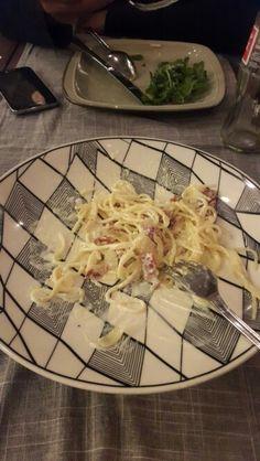 Spaghetti Carbonara @Balique Restaurant,Bali
