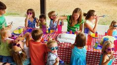 Plan ahead some simple party food for a stress free party