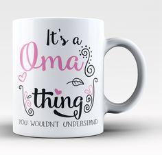 It's A Oma Thing - Mug