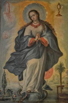 Hispanic American, Queen Of Heaven, Baroque, Colonial, Catholic, Spirit, Painting, Inspiration, Saints