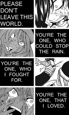 My God, Gray's death is all over the place! And Juvia's expression makes it even more sad....I'm gonna start crying again!!! DX