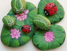Painted Ladybug Rocks                                                                                                                                                      More