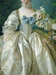 Madame de Bergeret by Francois Boucher