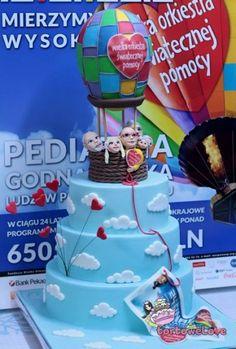Najpiękniejszy finałowy tort od tortowelove można było wylicytować podczas 24. Finału WOŚP w Elblągu!
