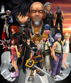 Omg, Xehanort's face is one of the funniest and creepiest things I've ever seen.