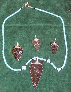 Easy Wire-Wrap Triangles… Wrapped Arrow Heads & Sharks Teeth