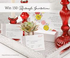 Wifestyles: MagnetStreet Sweepstakes! 150 FREE invitations!!!! GO ENTER!!!
