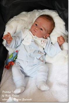 Anouk by Heike Kolpin - Online Store - City of Reborn Angels Supplier of Reborn Doll Kits and Supplies