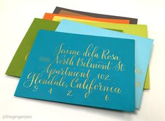 A hand-lettering design studio based in Oakland, California. Lettering Design, Hand Lettering, Gold Calligraphy, Big, Fall, Autumn, Fall Season, Handwriting, Calligraphy