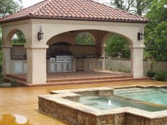 tuscan style backyards | Tuscan Style: A Kitchen Brimming With Cozy And Chic