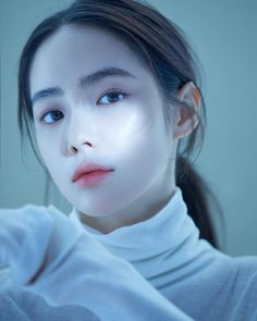 You are in the right place about amazing Makeup Art Here we offer you the most beautiful pictures about the … Mode Ulzzang, Ulzzang Korean Girl, Girl Face, Woman Face, Korean Beauty, Asian Beauty, Korean Aesthetic, Asian Makeup, Digital Portrait