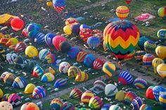 The Albuquerque International Balloon Fiesta, first weekend in October. Can't do it this year, but maybe in 2013?