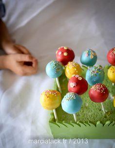 Cake pops - Cake balls : les sucettes gâteau qui plaisent toujours - Recette - Marcia 'Tack