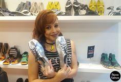 Sapatos Metalizados / Metallic Shoes - Jailson Marcos inaugura loja conceito em Ipanema, no Rio de Janeiro (os calçados são lindos!)