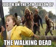 #Judith, season five, #TWD