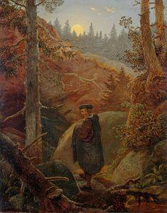 Carl Gustav Carus (1789-1869), Faust im Gebirge - 1821