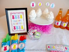 Peeps Easter Party - Treats, Decorating and More #Easter