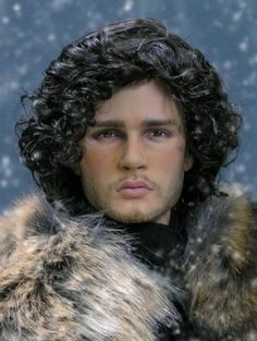 GOT Jon Snow: Jon Snow repaired from Tonner James Dean by Susan at My Immortals