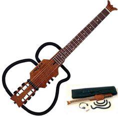 Compact travel guitar