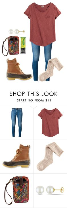 """""""December 1st :D"""" by daydreammmm ❤ liked on Polyvore featuring MICHAEL Michael Kors, H&M, L.L.Bean, Sakroots and Miadora"""