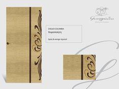 Handmade wooden door_code: Colombia