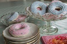 En kreativ verden: Hæklede donuts. Diy
