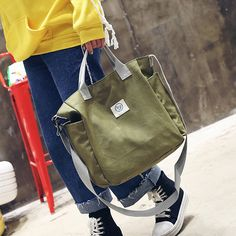 Women Casual Light Canvas Handbag Shoulder Bags Crossbody Bags is Worth Buying - NewChic Mobile.