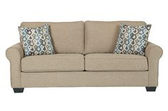 $467.49 Khaki Nalini Sofa- Ashley Furniture