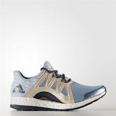 adidas Women's Pureboost Xpose Clima Running Shoe, Energy BlueCollegiate Navy, 10.5 M US