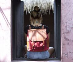 Suede Backpack - Uncovet.com