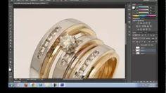 photoshop retouching jewelry tutorial - YouTube