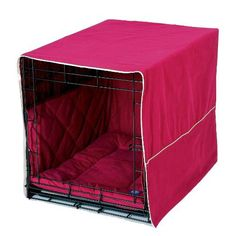 Pet Dreams Classic Cratewear Set, Burgundy, Fits 24-Inch Crates, 3-Piece - http://www.thepuppy.org/pet-dreams-classic-cratewear-set-burgundy-fits-24-inch-crates-3-piece/
