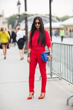 Fashion tip how to look taller: One color outfit - Style Advisor