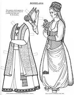 Great Women (Coloring Book Paper Dolls) | Paper Dolls❤History ...