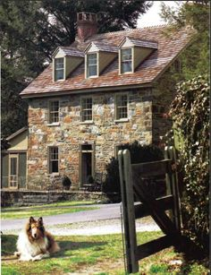 "The ""Marley and Me"" house located in Chadds Ford, Pennsylvania."