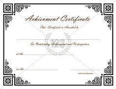 19 best Achievement Certificate images in 2014