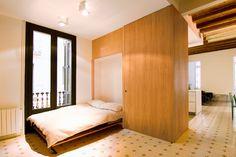 """Rehabilitación de Piso en el """"Eixample"""" de Barcelona : Dormitorios de estilo ecléctico de IF arquitectos"""