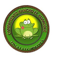 Logotipo de Campamento Rancho El Guareque. (También hicimos la Web)