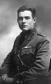 """Ernest Hemingway. """"The Sun Also Rises"""" was the first book of his that I'd read."""